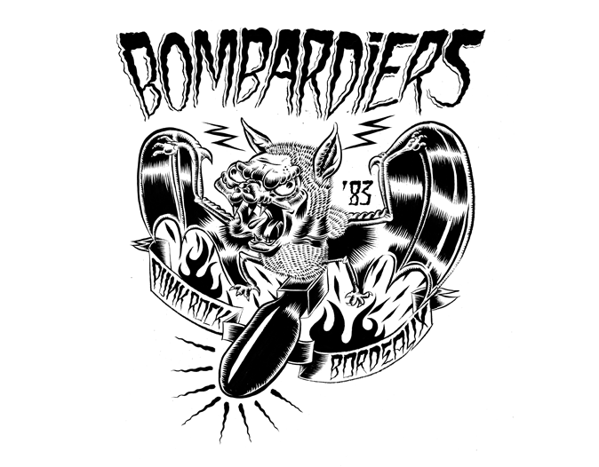 Bombardiers Punk-Rock Bordeaux